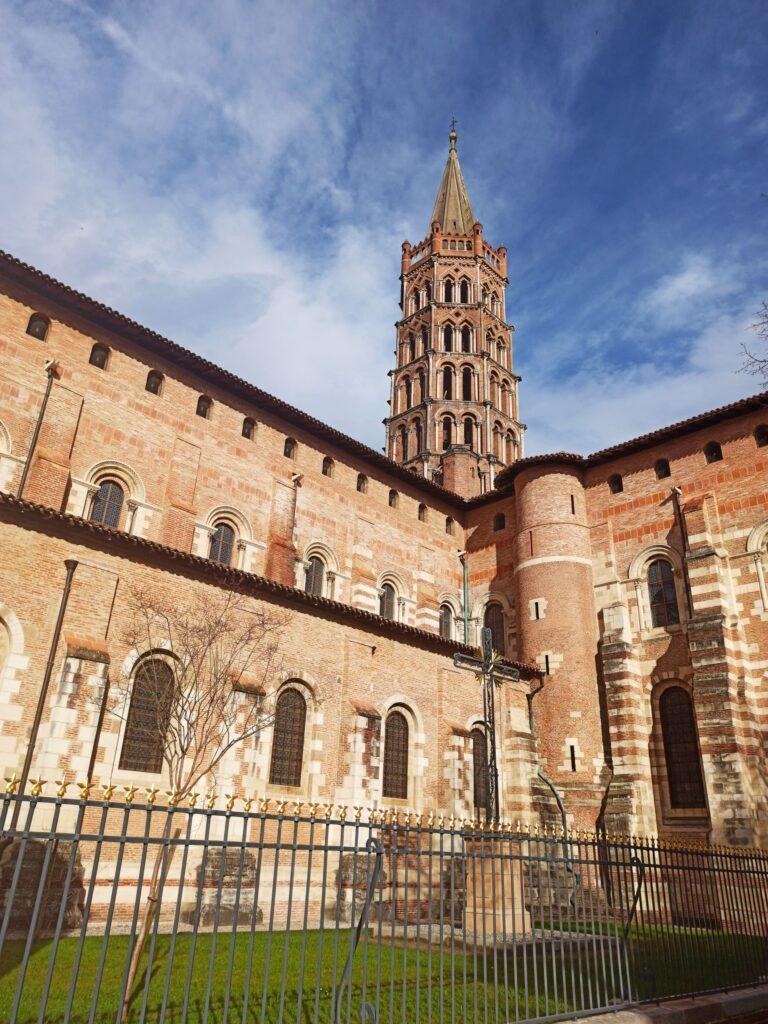 la basilique de saint sernin à Toulouse